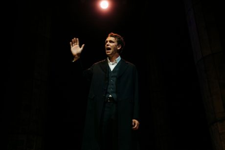 Brandon McCoy as Francis in Lincolnesque, now playing at the Keegan Theatre. Photo by Cameron Whitman Photography.