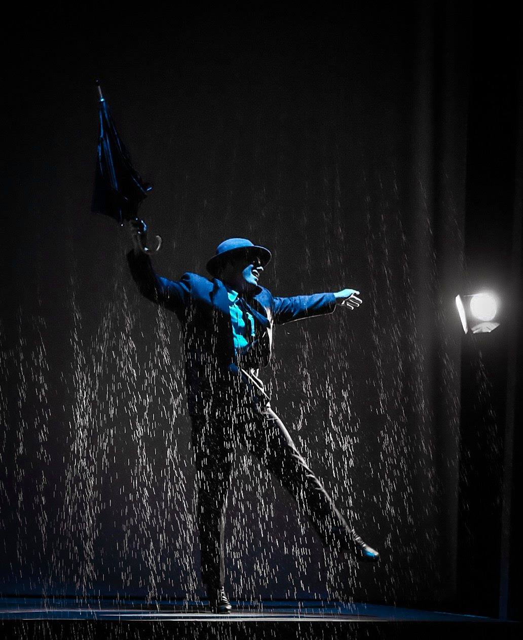 Singin' In The Rain plays through October 20 at 2nd Star Productions performing at Bowie Playhouse. Photo courtesy of 2nd Star Productions.