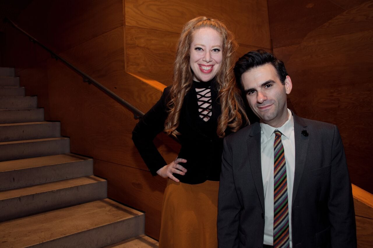 Jennifer Tepper and Joe Iconis. Photo by Stephanie Wessels.
