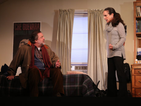 Jonathan Goldstein and Susan Rome in If I Forget, now playing at Studio Theatre. Photo by Carol Rosegg.