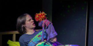 Hand to God at Maryland Ensemble Theatre. Photo by Joe Williams.