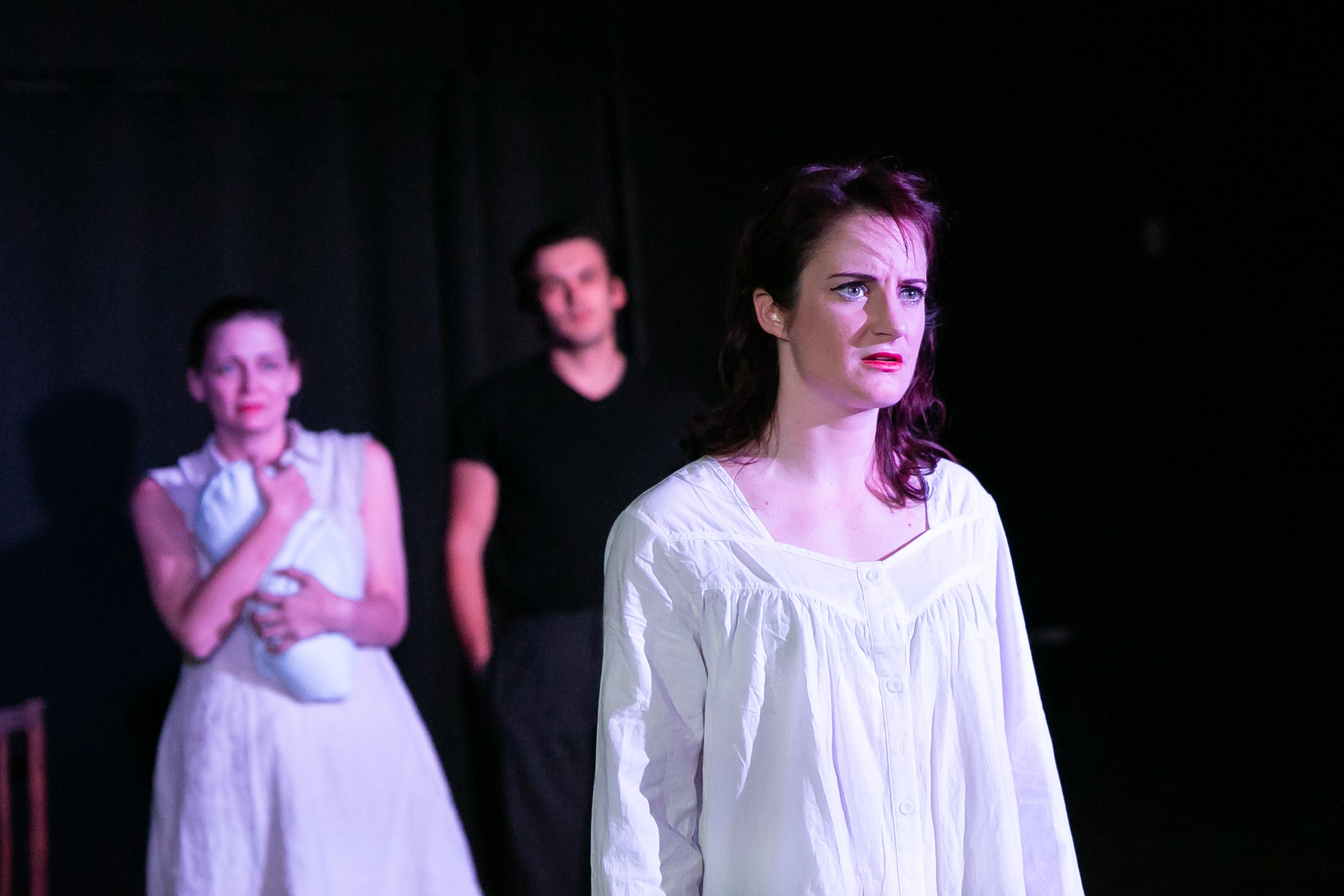 Katie Culligan as the Duchess. Photo by Claire Kimball