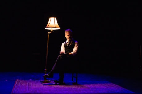 Jon Reynolds in We Happy Few's A Midnight Dreary. Photo by Sam Reilly.