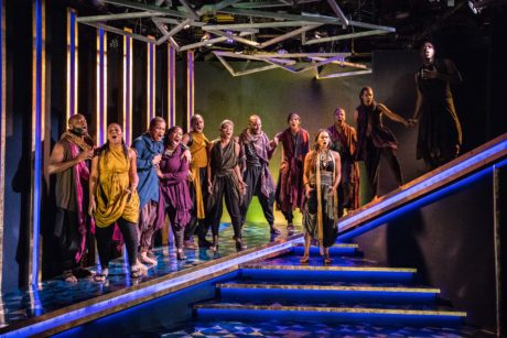The cast of Aida, now playing at Constellation Theatre. Photo by DJ Corey Photography.