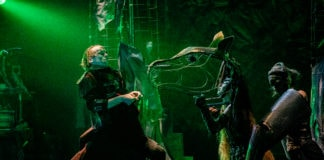 Synetic Theater's production of Sleepy Hollow plays through November 4, 2018. Photo by Briittany DiLiberto.