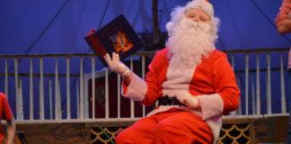 Brian Tatum in 'Jingle ARRGH the Way.' Photo by Aileen Pangan Christian.