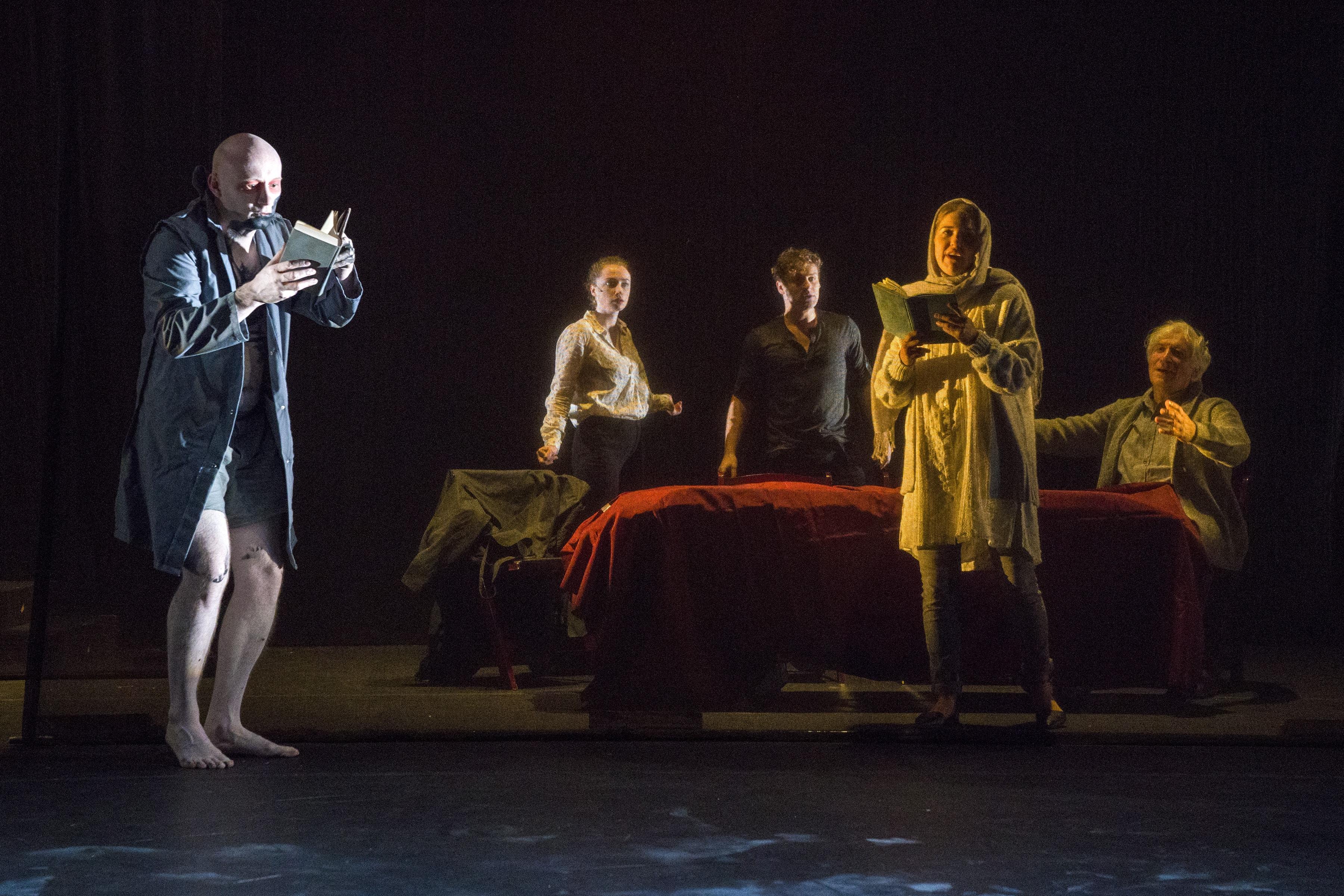 Aquila Theatre's 'Frankenstein.' Photo by Richard Termine.