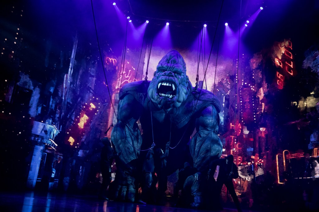 King Kong and company. Photo by Joan Marcus.
