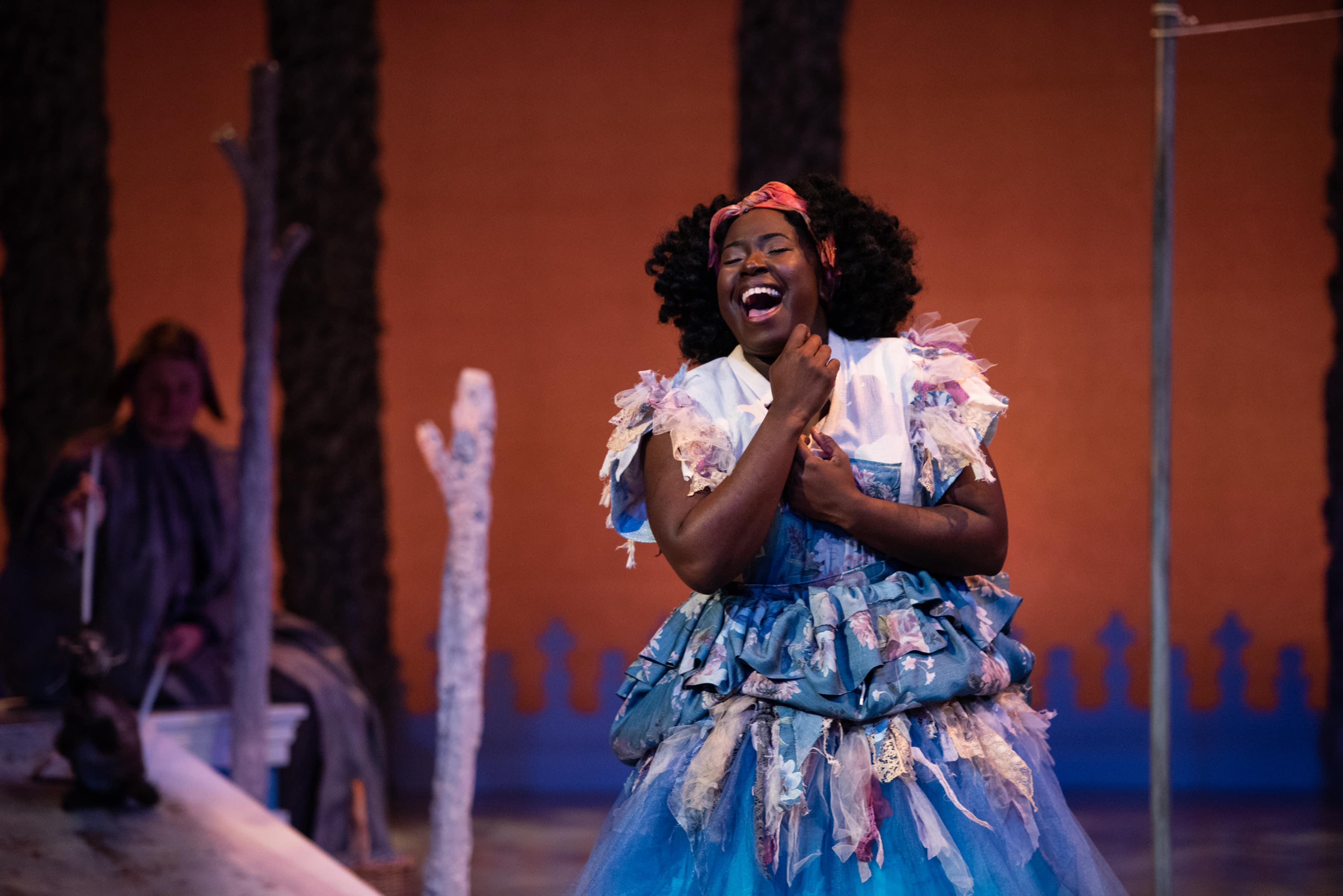Awa Sal Secka as Cinderella at Imagination Stage. Photo by Margot Schulman.