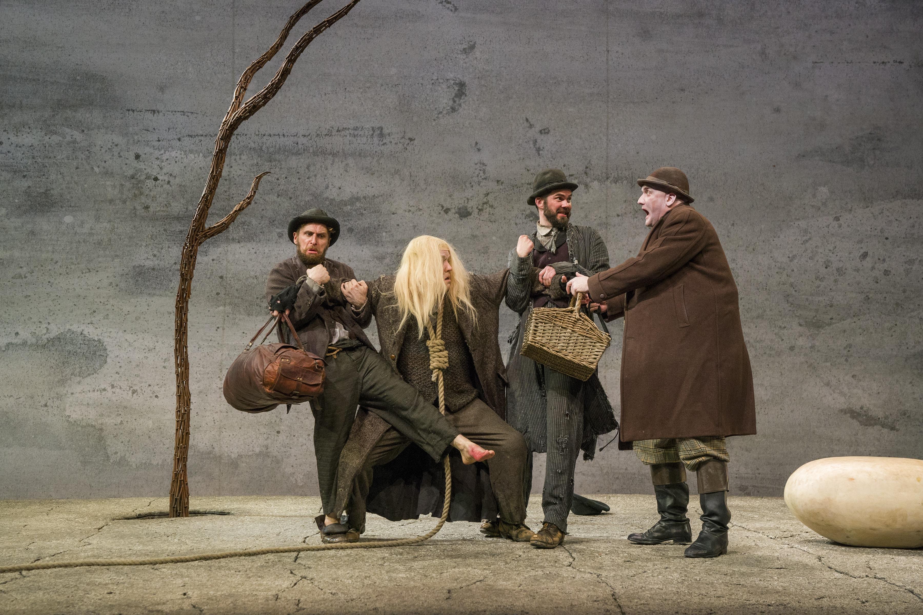 Aaron Monaghan, Garrett Lombard, Marty Rea, and Rory Nolan. Photo by Richard Termine.