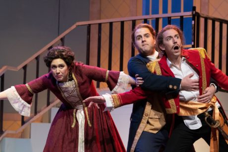 The Barber of Seville, presented by Annapolis Opera, plays through November 4 at Maryland Hall for the Creative Arts. Photo courtesy of Annapolis Opera.