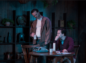 Tim Getman and Daniel Corey in True West. Photo by Katie Simmons-Barth.