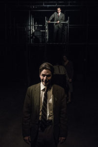 Jonathan Lee Taylor and Sam Ludwig in The Farnsworth Experiment. Photo by Teresa Castracane.