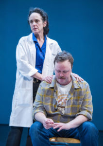 Susan Rome as Roz and Tom Story as Ray in Roz and Ray. Photo by C. Stanley Photography.