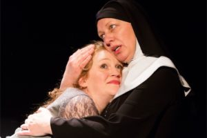 Danielle Davy (Brigitte) and Nanna Ingvarsson (Jeanne) in Guilt. Photo by Jae Yi Photography.