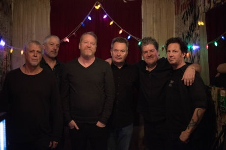 David Lowery (third from left) with Camper Van Beethoven. Photo by Hillery Terenzi.