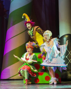 Cirque Dreams 'Holidaze.' Photo courtesy of Cirque Dreams.