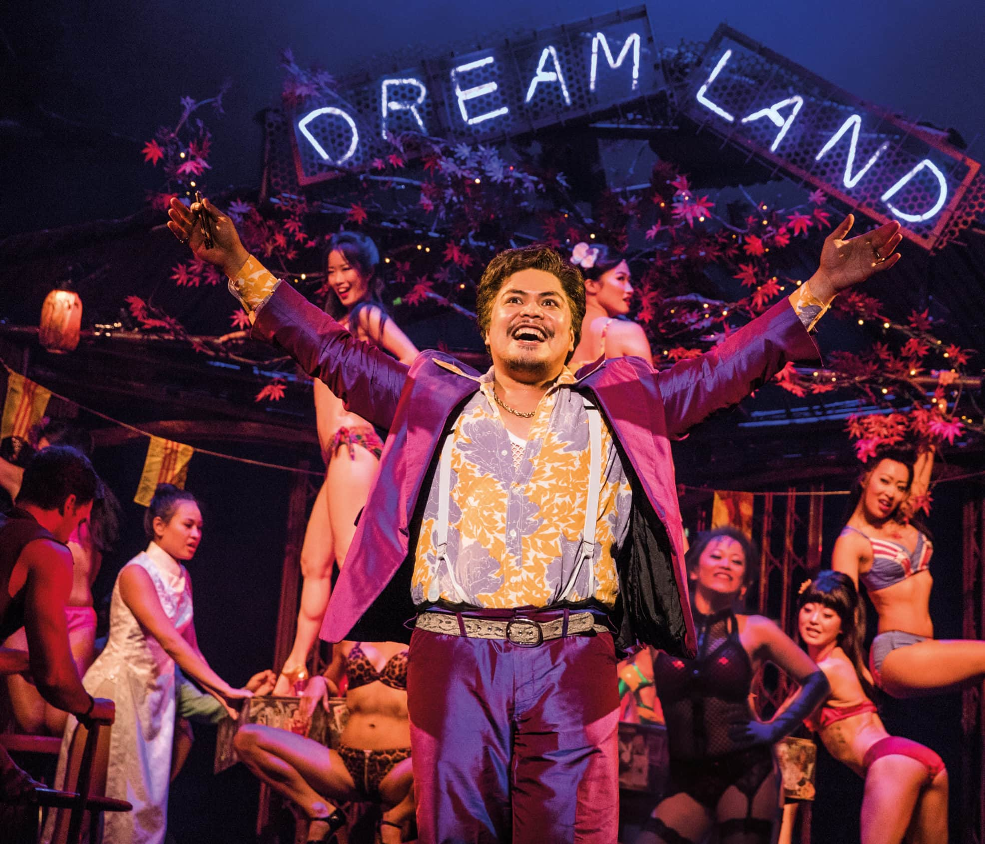 Red Concepcion in Miss Saigon. Photo by Matthew Murphy.