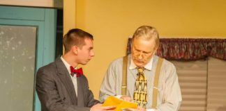 She Loves Me plays through December 16 at Fauquier Community Theatre. Photo by Stephen Rummel Photography.