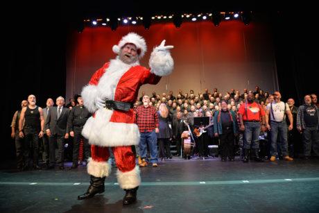 The Gay Men's Chorus of Washington, DC Holiday Show. Photo by Michael Key.