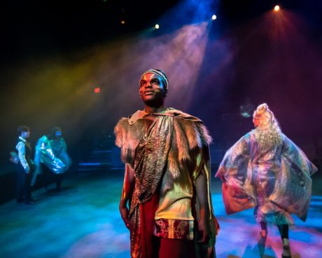 Ifechukwu Alachebe (Aslan) in The Chronicles of Narnia. Photo by Bruce F. Press Photography.