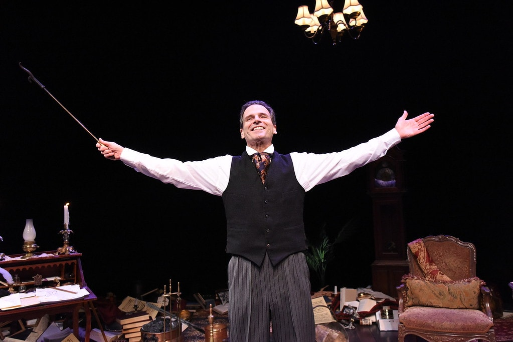 Paul Morella in A Christmas Carol. a Ghost Story of Christmas. Photo by Stan Barouh.