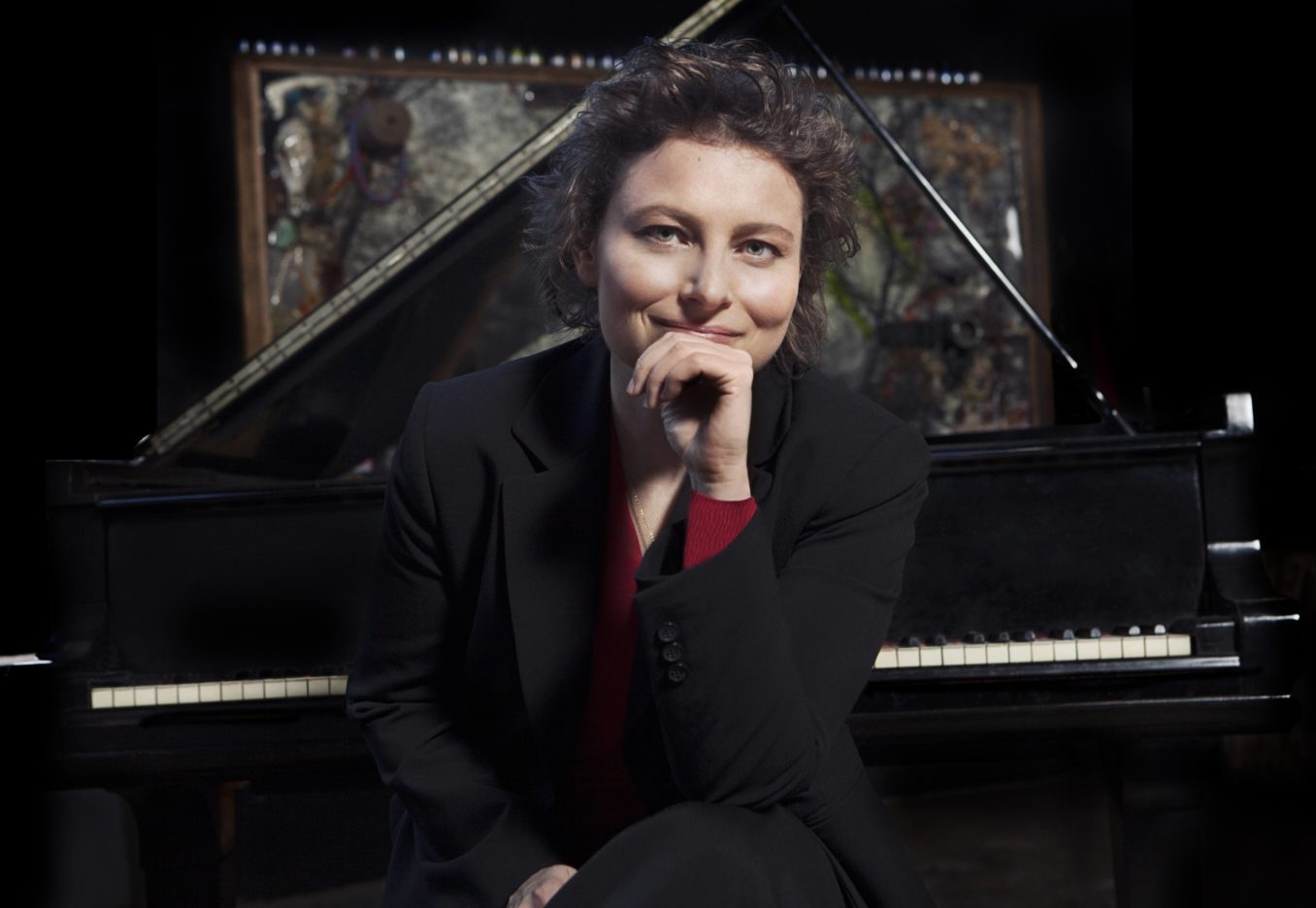 Pianist Yael Weiss premieres '32 Bright Clouds: Beethoven Conversations Around the World' at Strathmore on January 24. Photo by Lisa-Marie Mazzucco.