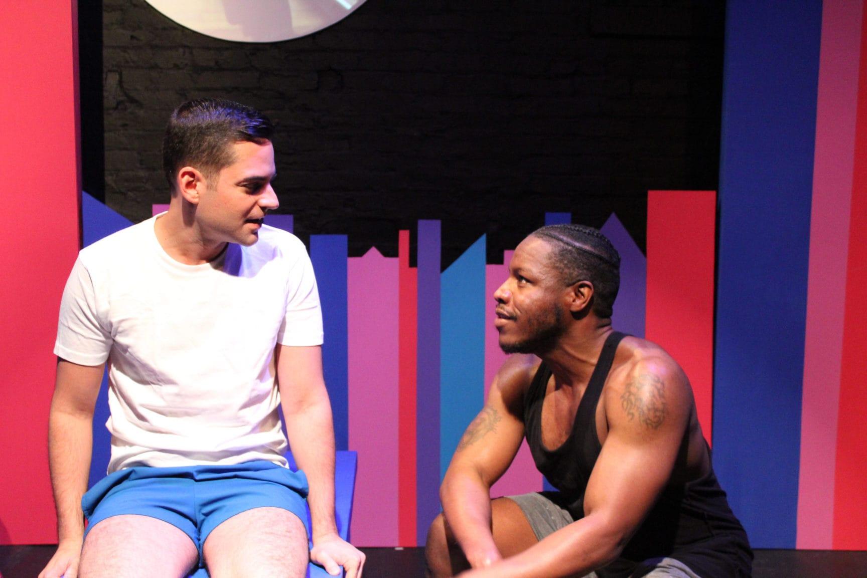 Rinaldo Martinez and Reginald Richard in 'Jeffrey.' Photo by RCG Photography.