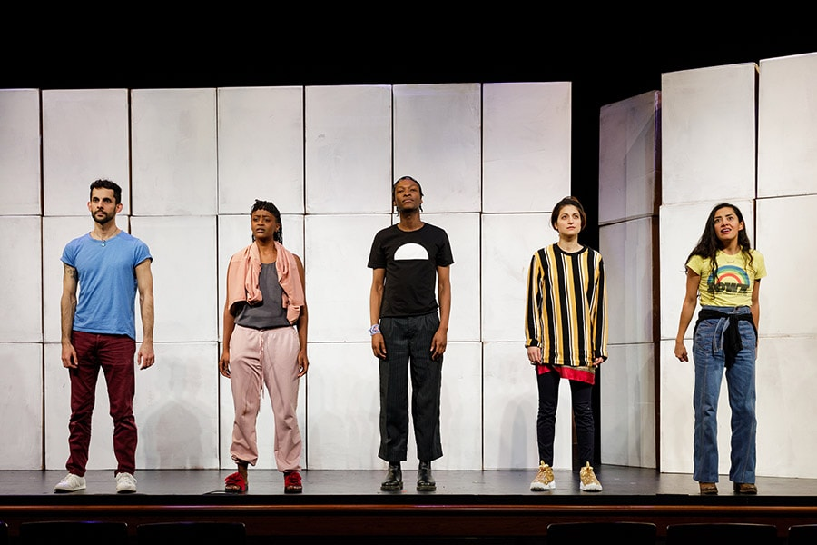 The cast of Cartography, playing January 11-13 at The Kennedy Center. Photo courtesy of The Kennedy Center.