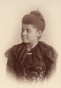 Ida B. Wells in 1893. Photo courtesy of Google Art Project.