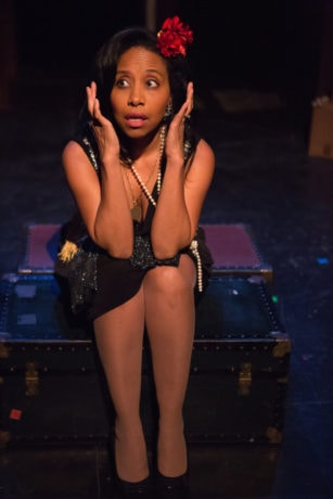 Michelle Rogers (Lena) in The In Series' production of From U Street to The Cotton Club. Photo by Angelisa Gillyard.