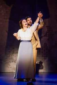 Ruby Gibbs and Jeff Sullivan in 'Finding Neverland.' Photo by Jeremy Daniel.