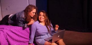 Marley Kabin as Anisa, Danielle Scott as Danielle. Photo by Ty Hallmark.