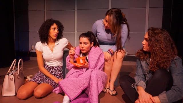 Lori Pitts as Caro, Julieta Gozalo as Bethanie, Marley Kabin as Anisa, Danielle Scott as Danielle. Photo by Ty Hallmark.