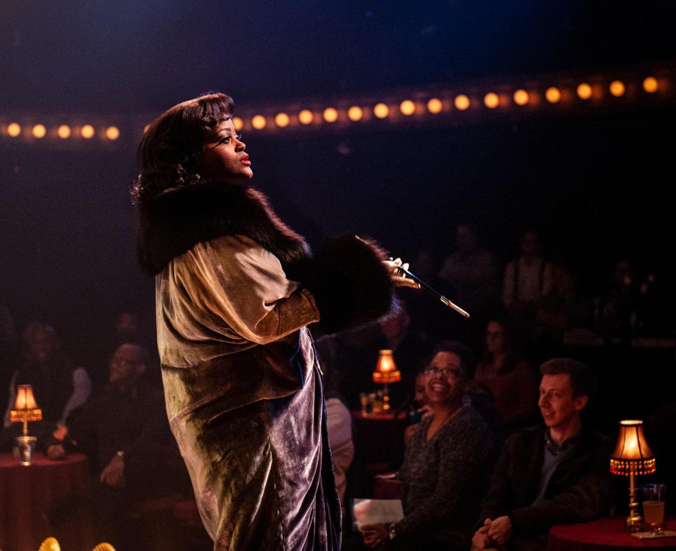 Nova Y. Payton in Ain't Misbehavin' at Signature Theatre. Photo by Margot Schulman.