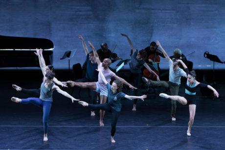 DEMO: Now: Dance Heginbotham and the Juilliard String Quartet in 'Token.' Photo by Teresa Wood.