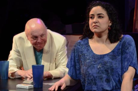 Lewis Freeman (Don Jack) and Mia Rojas (Susana) in 'La Paloma at the Wall.' Photo courtesy of The In Series.