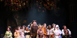 The cast of Ford's Theatre's 'Into the Woods.' Photo by Carol Rosegg