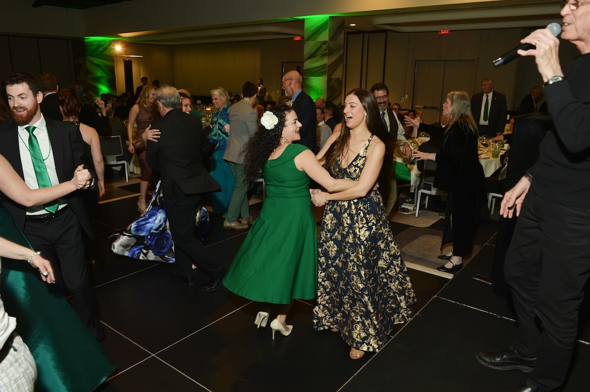 Gala guests dancing. Photo by Shannon Finney.