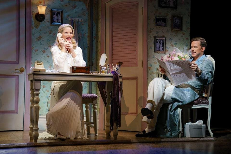 Kelli O'Hara and Will Chase. Photo by Joan Marcus.