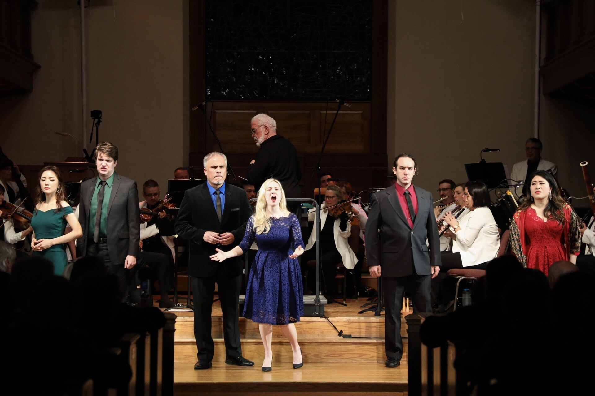 Maryland Lyric Opera's Young Artist Institute performed 'An Evening Of Mozart: The Da Ponte Operas' at Bethesda United Methodist Church on March 15 and 16. Photo courtesy of Matthew Woorman, Maryland Lyric Opera.