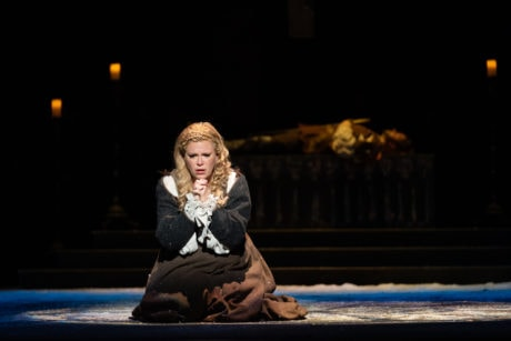 Erin Wall as Marguerite in WNO's production of 'Faust.' Photo by Scott Suchman.