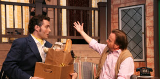 Freddie and Lloyd in 'Noises Off.' Photo by Simmons Design.
