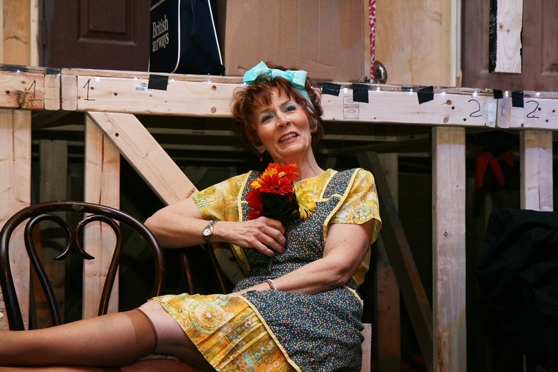 Dotty in 'Noises Off.' Photo by Simmons Design.