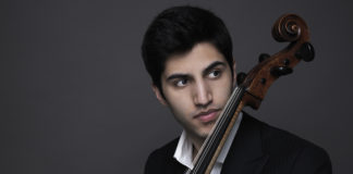 Cellist Kian Soltani. Photo by Juventino Mateo.