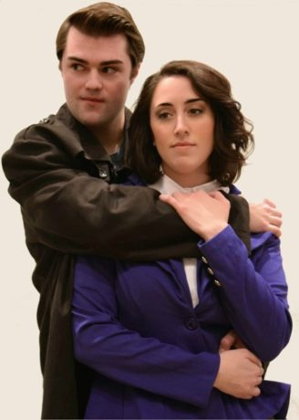Michael McCarthy and Bailey Wolf. Photo courtesy of Rockville Musical Theatre.
