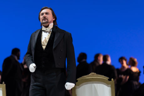 Igor Golovatenko makes his US debut as Eugene Onegin in WNO's production. Photo by Scott Suchman.