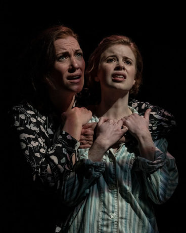 Catherine Eaton as May and Megan Graves as Amy in 'Oil.' Photo by Teresa Castracane Photography.