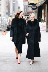 Laura and Linda Benanti. Photo by Alexa Brown.