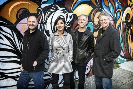 Kronos Quartet. Photo by Jay Blakesberg.